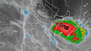 Rige alerta por tormentas en Entre Ríos