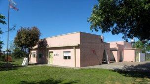 Menores provocaron daños en la escuela de Hughes