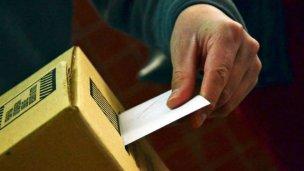 El voto en blanco es inválido