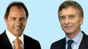 Macri o Scioli: Ya se vota en el primer balotaje de la historia