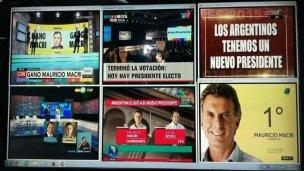 #Balotaje: ¿qué dice la TV?