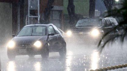 Alerta por lluvias y tormentas en todo Entre Ríos