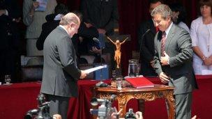 Busti y Urribarri, la renovada pelea entre dos ex