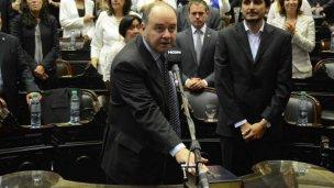 Monfort juró en el Congreso de la Nación