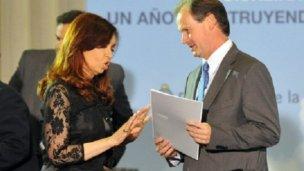 Cristina no fue al Congreso, Bordet sí