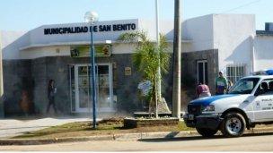 Insólito traspaso de mando en San Benito