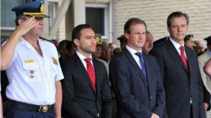 Bordet tomó juramento al nuevo jefe de policía