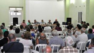 Reuniones de directorio en la Caja de Jubilaciones y Pensiones