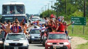 Pronunciamiento movilizado: el pueblo recibió a su DEPRO tras el ascenso al Torneo Federal A