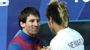 Leo Messi propone a Neymar Jr. como su heredero
