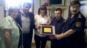 Proponen otro reconocimiento para el policía Jonathan Perroud