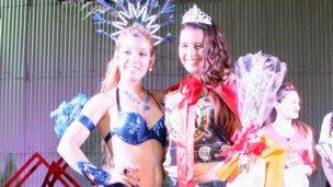 Lucía Fister es reina de los corsos