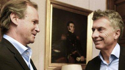 Gustavo Bordet viajó con Macri a Holanda