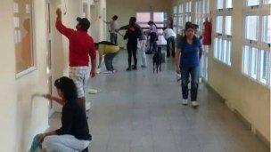 Actividades Solidarias en la Escuela Nº 56