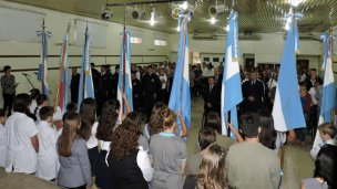 Recordaron a los héroes de Malvinas