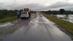 Rehabilitaron el tránsito por la ruta entre Federal y Concordia