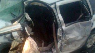 Grave accidente: Un muerto y 7 heridos en Ruta 12