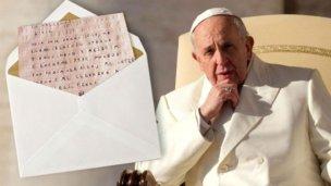 Rector de un colegio de Concordia le escribió al Papa Francisco