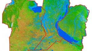El agua cubre más de siete millones de hectáreas
