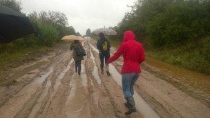 Gualeguaychú: la lucha por llegar a las aulas