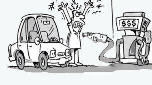 Polémica iniciativa: Cobrarían un plus por cada litro de nafta