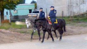 Colón incorporó la Policía Montada