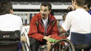 Guille Moren, voluntario en los Juegos Paralímpicos