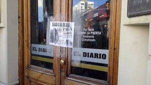 El Diario no sale a la calle y los trabajadores extienden el paro