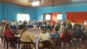 Vecinalistas intercambiaron proyectos