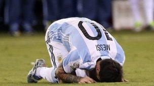 Messi tras la final perdida: