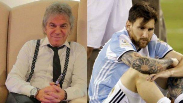 Beto Casella contra Messi