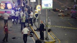 Atentado en Turquía: Al menos 50 muertos en el aeropuerto de Estambul