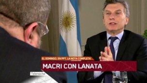 Lanata, tras entrevistar a Macri