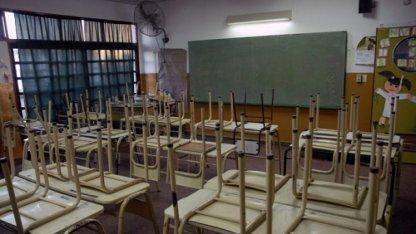 Con 95% de adhesión comenzó el paro docente