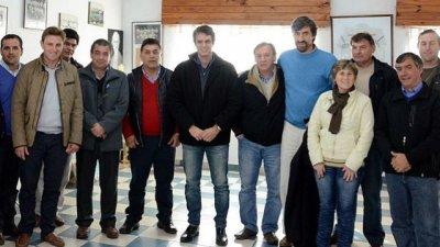 Intendentes peronistas del departamento Concordia apoyan a Cevey