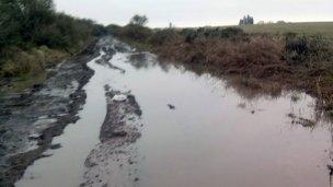 Tras las lluvias, cómo están los caminos de la provincia