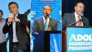 Acusan a Macri, Scioli y Rodríguez Saá de lavar dinero