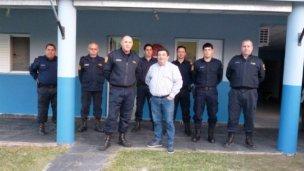 Autoridades policiales recorren el departamento