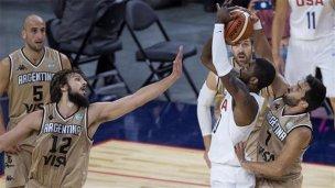 La Generación Dorada se cruzará con los NBA de Estados Unidos