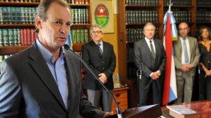 Bordet, entre los gobernadores que desafían al kirchnerismo