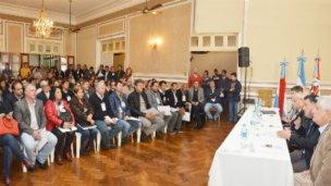 """Intendentes y viceintendentes justicialistas buscan """"formar una liga"""""""