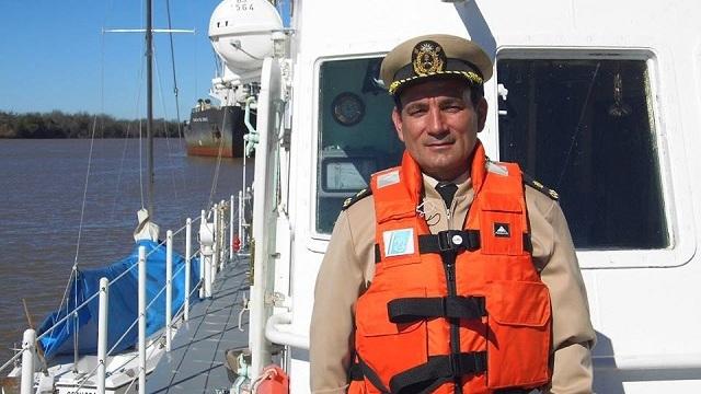 Heroico rescate en aguas del río Uruguay