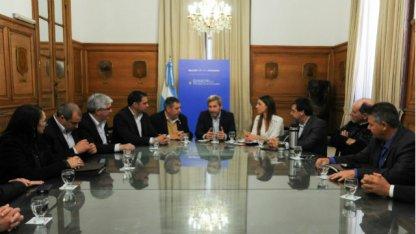 Intendentes vecinalistas reclamaron obras al Ministro Frigerio