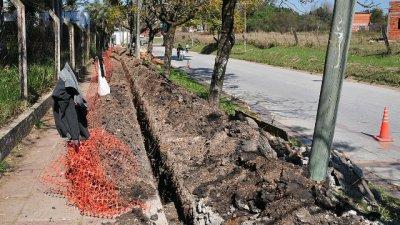 La extensión de la red de gas llegó a San Isidro