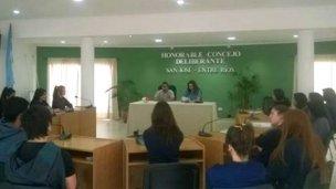 Cerró la actividad legislativa el Concejo Deliberante Estudiantil