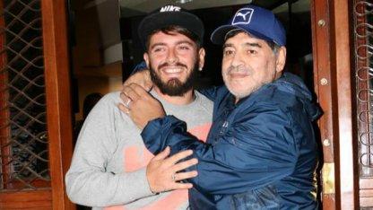 La historia de Diego Maradona y Diego Jr.