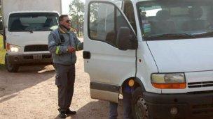 Labraron actas a transportes de carga