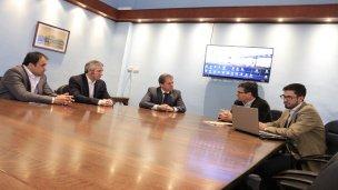 CARU: Avances en la obra del puente Monte Caseros - Bella Unión