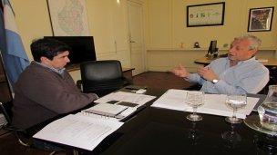 Fuertes y Lauritto analizan alternativas para el desarrollo turístico de Concepción del Uruguay
