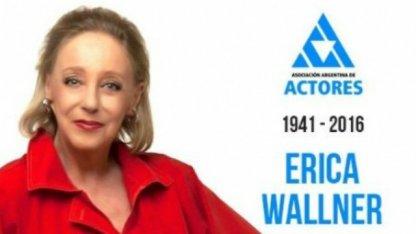 Falleció la actriz Erika Wallner
